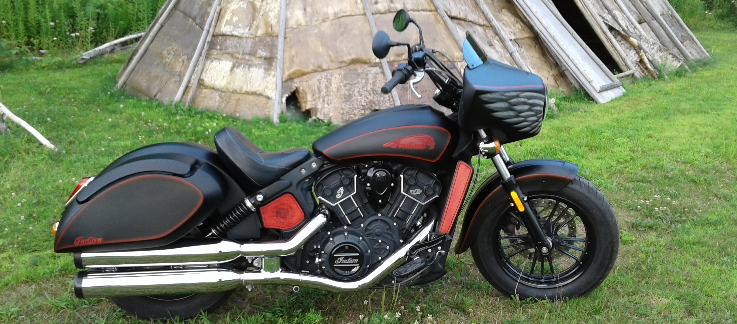 INDIAN SCOUT & SIXTY FAIRING